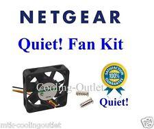Quiet Version! Netgear GS748TS Fan. 1x New Fan about 12dBA Noise