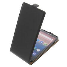 Custodia per Alcatel One Touch Pop 3 5.5 modello Flip Protettiva Case Nero