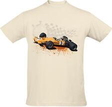 Retro Formula 1 T-Shirt - Denny Hulme McLaren M7A Design