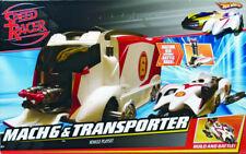 New Hot Wheels 2007 Speed Racer Mach 6 & Battle Rig Vehicle Playset #M4210