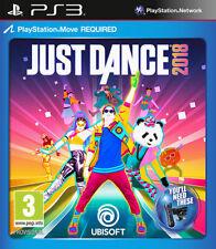 Just Dance 2018 PS3 Playstation 3 UBISOFT