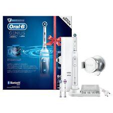 Oral-B Genius 8200 Elektrische Zahnbürste+SmartphoneHalterung+3 Aufsteckbürsten✔
