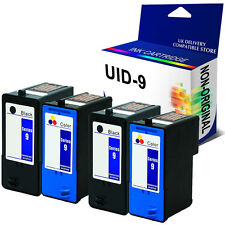 4 Ink Cartridges Bk & Colour for Dell Series 9 All In One 926 V305 V305W