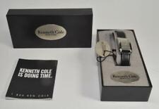 Kenneth Cole Nueva York Todo de Acero Inoxidable Reloj Cuarzo Kc2088 con / Caja,