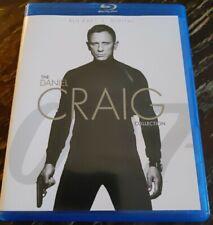 Daniel Craig James Bond 007 4 Disc Collection Blu Ray Spectre Skyfall CR QOS
