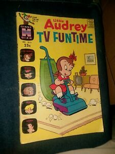 LITTLE AUDREY TV FUNTIME 6 VACUUM COVER GIANT HARVEY COMICS HITS SILVER-AGE 1963
