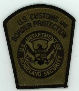 US CUSTOMS AND BORDER PROTECTION SUBDUED SWAT STYLE NEW PATCH SHERIFF POLICE