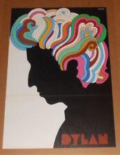 Bob Dylan Greatest Hits Poster Album Insert 1967 Original 33x22 Milton Glaser EX