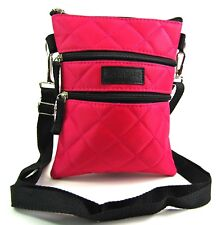 High Quality Crossover Body Handbag Lightweight Quilted Bag Purse Tablet Case