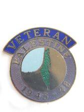 Palestine Veteran Lapel Military Badge