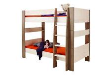 STEENS FOR KIDS Etagenbett Kinderbett Hochbett Kiefer massiv White-Wash/Stone