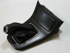 #1678 TOYOTA AVENSIS, Gearbox Cover Panel With Leather Gaiter and Ashtray, BLACK