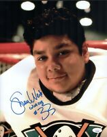 SHAUN WEISS Signed 11x14 Photo Greg Goldberg The Mighty Ducks #33 COA JSA Cert