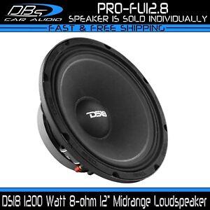 "DS18 PRO-FU12.8 12"" Midrange Vocal Speaker 1200 Watt 8-ohm Midbass Loudspeaker"