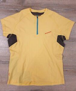 Madison Cycling Jersey Yellow women's Size 12