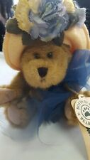 """Boyds Plush #918437 Adaline Bearett, 6"""" New/Tag From Retail Store, Jointed Bear"""