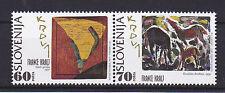 V997 eslovenia/pinturas-caballos MiNr 121/22 ** par