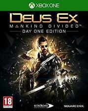 Xbox One Deus EX: Mankind Divided Day 1 Edition