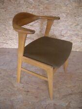 Danish Modern 60er Schreibtisch Stuhl Chair Armlehnstuhl Sessel Mid Century