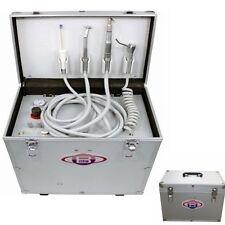 Dental Portable Turbine Unit with Air Compressor Suction System 3 Way Syringe 4H