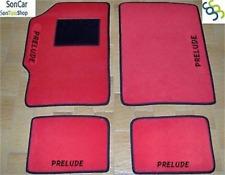 HONDA PRÉLUDE tapis tapis de voiture +4 pièces +4 bloc