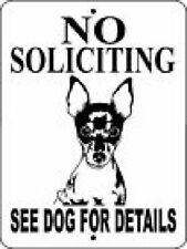 Fox Terrier, Dog, Breed, Security, Aluminum Sign Nstft1