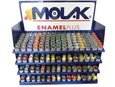COLORI MOLAK ENAMEL 18ml HUMBROL REVELL MATT GLOSS SATIN METALLIC X MODELLISMO