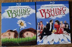 Pushing Daisies - Seasons 1 & 2 -Blu-Rays + Slipcovers -US Releases -Region Free