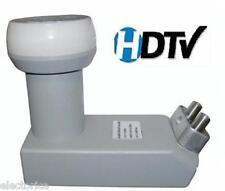 DUAL DSS SATELLITE LNB DISH BELL DIRECTV NETWORK FTA CIRCULAR DISHNET