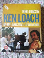 Ken Loach Collection Blu-Ray (2017) Robert Carlyle, Loach (DIR) cert 18 3 discs