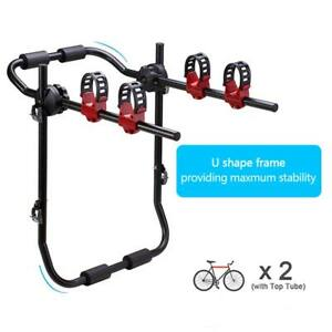 Bike Stand Car SUV Vehicle Trunk Mount Bicycle Cycling SteeStand Storage Carrier