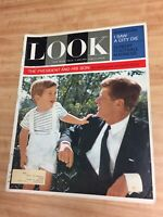 1963 Dec. LOOK MAGAZINE PRESIDENT JOHN F. KENNEDY & HIS SON JOHN JOHN Exclusive