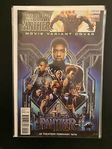 Rise of the Black Panther 2 Movie Variant Cover High Grade Marvel Comic CL92-311
