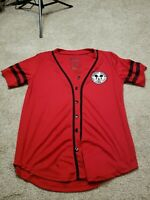 Disney Mickey Mouse All Star 1928 Jersey Size Medium Red Rare