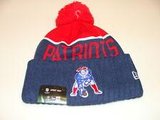 New England Patriots трикотажа на поле New Era ток Beanie ретро второстепенный кепка шляпа