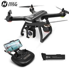 Pedra Sagrada HS700 Fpv Gps Rc Drone Com Câmera 1080P Hd Wifi Quadricóptero sem escovas