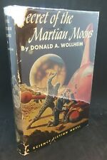 New listing Secret of The Martian Moons ~ Donald A. Wollheim ~ True First 1st/1st Edition