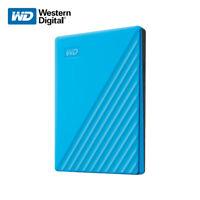 WD 2TB Neu My Passport External Hard Drive Externe Festplatte USB 3.2 Gen 1 Sky