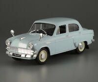 Moskvitch 403 Export Soviet Sedan Blue Color 1:43 Scale Diecast Model Car 1962