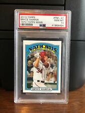 2013 Topps 1972 Topps Minis Bryce Harper Baseball Card #TM-41 PSA 10 Gem Mint