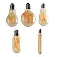 Vintage Filament LED Edison Bulb Dimmable E27 Decorative Industrial Light A+