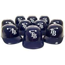 Tampa Bay Rays Mini Helmet Ice Cream/ Snack Bowls ( Set of 10 )