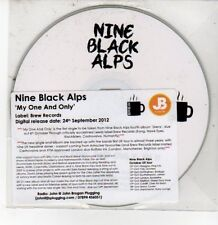 (DQ507) Nine Black Alps, My One And Only - 2012 DJ CD