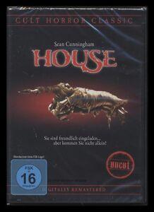 DVD HOUSE 1 - UNCUT - CULT HORROR CLASSIC - SEAN CUNNINGHAM *** NEU ***