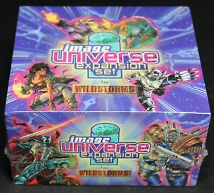 1996 Wildstorms Image Universe CCG TCG Expansion Set Booster Box - SEALED