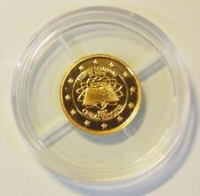 "Cook Islands 1 Dollar ""Vatikan - Römische Verträge"" 2007 0,5 g 999 Gold/AU PP"
