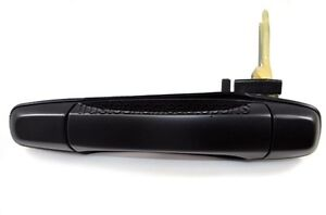 fits Subaru Rear Left Textured Black Outside Outer Exterior Door Handle