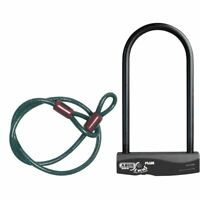 Bicicleta D Lock Abus Sinus Plus Combination Pack D-Lock Black 230/120cm Bicycle