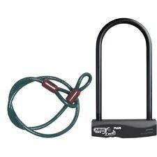 Vélo D Serrure ABUS Sinus Plus Combinaison Pack D-Lock Noir 230/120cm Vélo