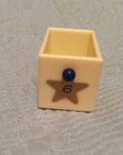Avon Vintage Advent Calendar Christmas Musical Tree Replacement Part Drawer  #6
